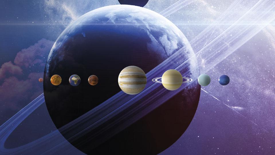 Planeterna i vårt solsystem